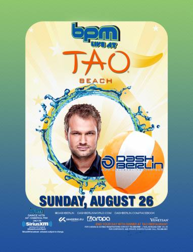 Dash Berlin @ Tao Beach (8/26/12)