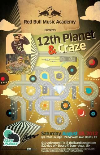 12th Planet & Craze @ The Lizard Lounge