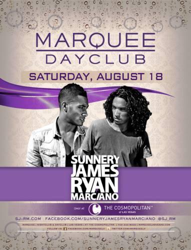 Sunnery James & Ryan Marciano @ Marquee Dayclub (8/18/12)