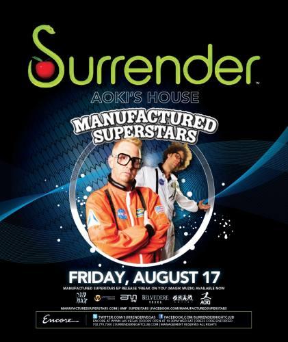 Manufactured Superstars @ Surrender (8/17/12)