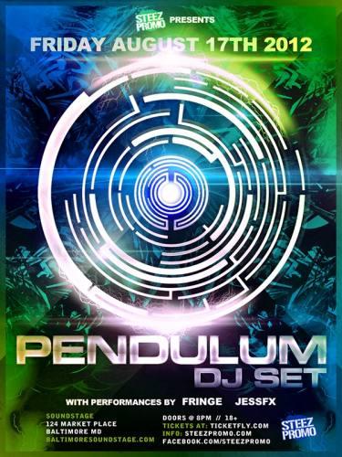 Pendulum (DJ) @ Baltimore Soundstage