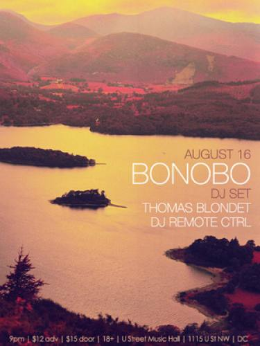 Bonobo (DJ) @ U Street Music Hall