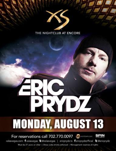 Eric Prydz @ XS - Las Vegas (8/13/12)