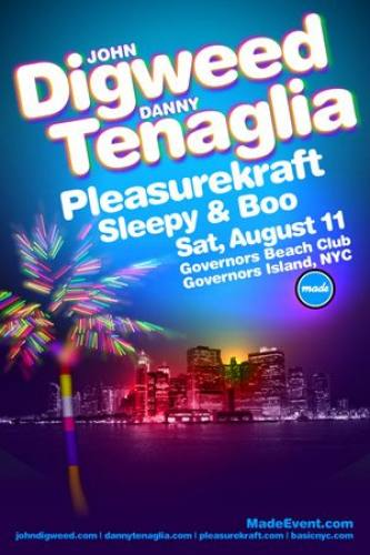 John Digweed & Danny Tenaglia Pleasurekraft - Made Events Governers Island 08/11
