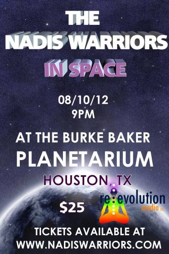 The Nadis Warriors in Space (Live at Burke Baker PLANETARIUM
