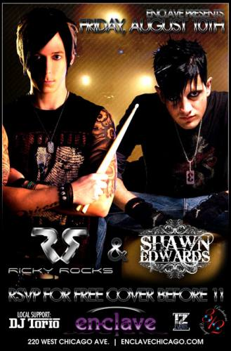 SHAWN EDWARDS & RICKY ROCKS @ Enclave
