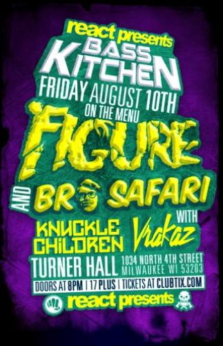 FIGURE & Bro Safari @ Turner Hall Ballroom