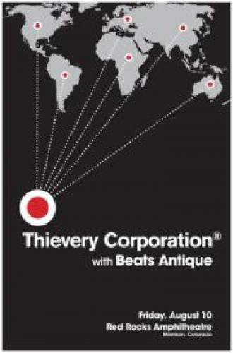Thievery Corporation w/ Beats Antique & Afrolicious