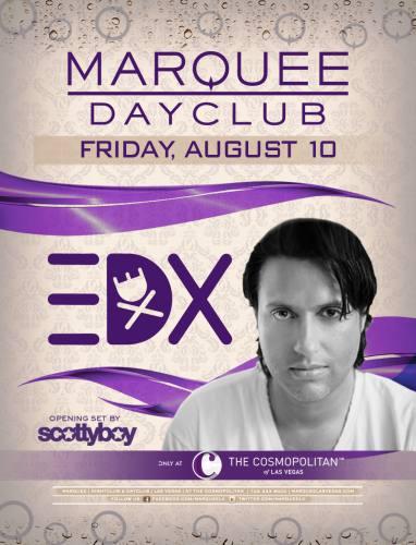 EDX @ Marquee Dayclub