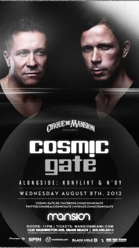 Cosmic Gate @ Mansion (8/8/12)