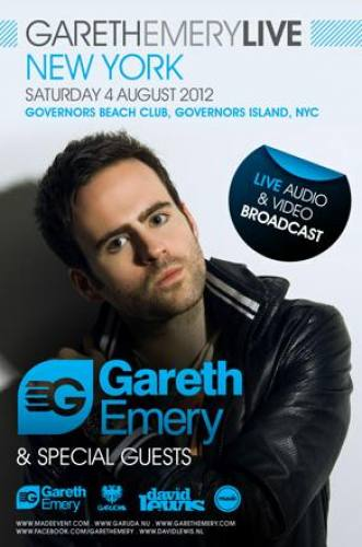 Gareth Emery + Guests @ Governors Beach Club