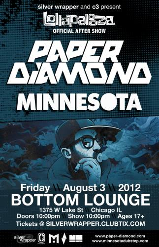 Lollapalooza Afterparty w/ Paper Diamond and Minnesota