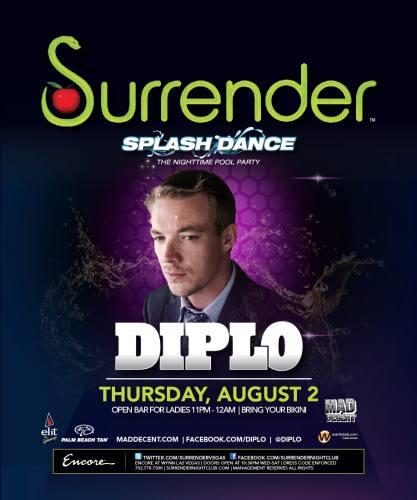 Diplo @ Surrender (8/2/12)