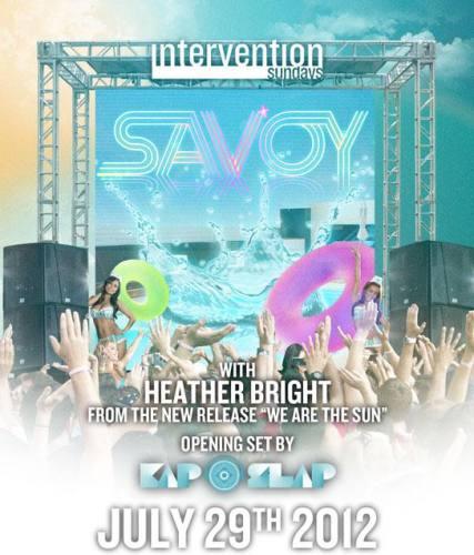 Savoy w/ Heather Bright @ Hard Rock Hotel - San Diego