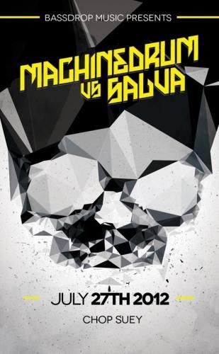 MACHINEDRUM vs. SALVA presented by Bassdrop Music