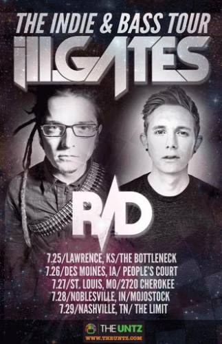 The Untz Presents Indie & Bass: Featuring ill.Gates & R/D (St. Louis, MO)
