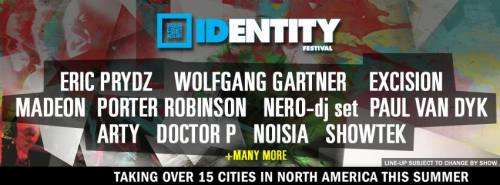 Identity Festival 2012 @ Comcast Center - Mansfield