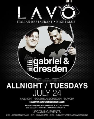 Gabriel & Dresden @ LAVO - Las Vegas