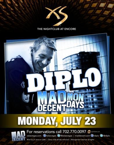Diplo @ XS - Las Vegas (7/23/12)