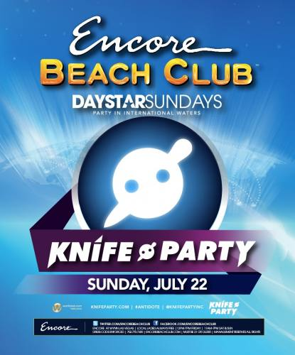 Knife Party @ Encore Beach Club