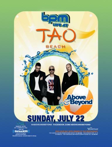 Above & Beyond @ Tao Beach (7/22/12)