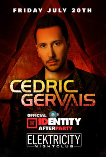 Official Identity Festival After-Party feat Cedric Gervais