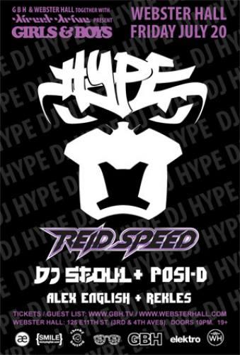 DJ Hype & Reid Speed @ Webster Hall