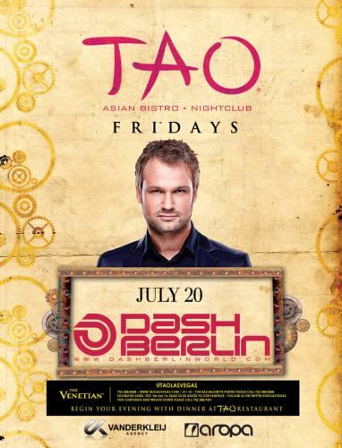 Dash Berlin @ Tao Nightclub