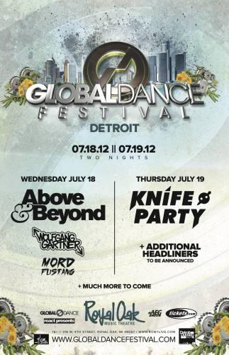 Global Dance Festival Detroit (7/19/12)
