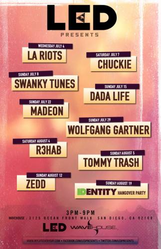 Dada Life @ Wavehouse (7/15/12)