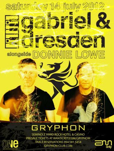 Gabriel & Dresden @ Gryphon