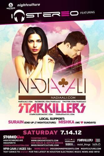 Nadia Ali & Starkillers @ Stereo Live