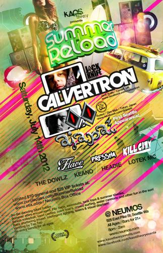 Summer Reload w/ Calvertron & Ajapai
