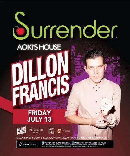 Dillon Francis @ Surrender (7/13/12)