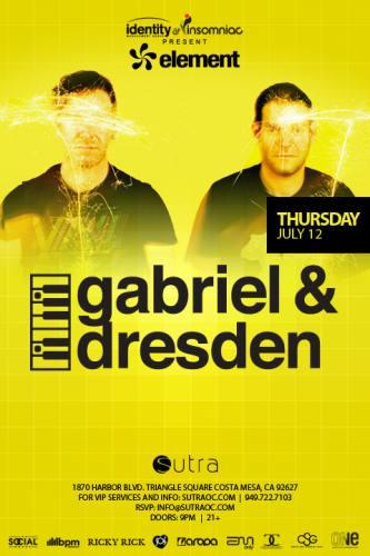 Gabriel & Dresden @ Sutra