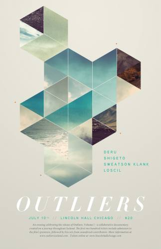 Outliers, Vol. I: Iceland - Live Audio/Visual Show with Deru, Shigeto, Sweatson Klank & Loscil July 10 at Lincoln Hall in Chicago