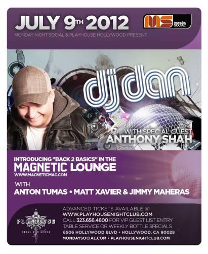 DJ Dan @ Playhouse (7/9/12)
