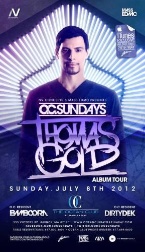 Thomas Gold @ Ocean Club