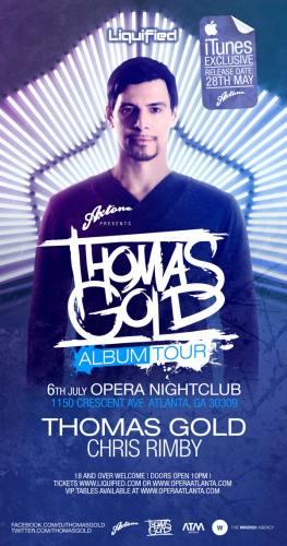 Thomas Gold @ Opera
