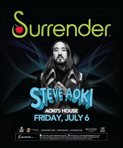 Steve Aoki @ Surrender (7/6/12)