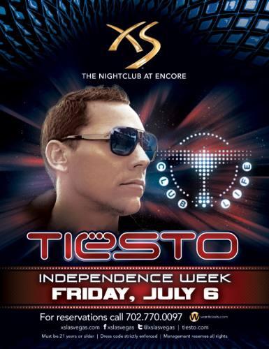 Tiesto @ XS - Las Vegas (7/6/12)