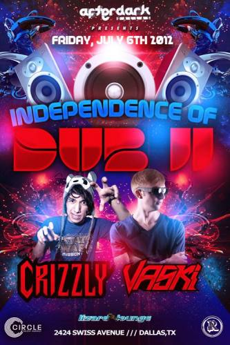 Crizzly + Vaski @ The Lizard Lounge