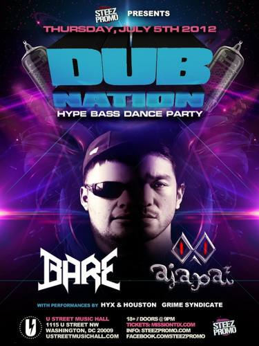 DUB NATION DC FEATURING BARE & AJAPAI