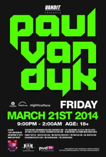Paul van Dyk @ Club Rio (03-21-2014)