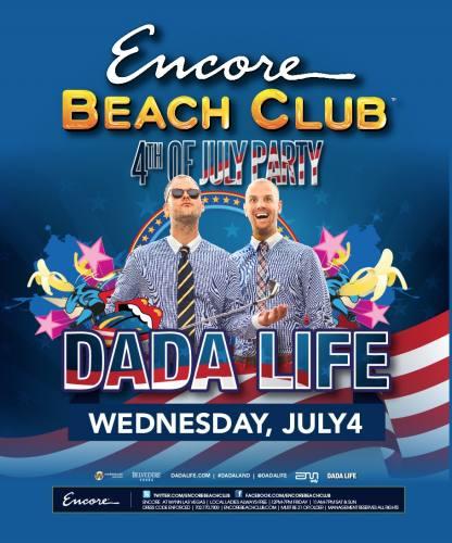 Dada Life @ Encore Beach Club (7/4/12)
