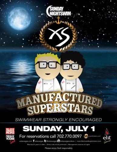 Manufactured Superstars @ XS - Las Vegas