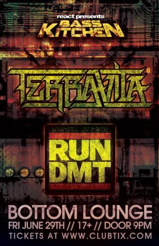 Terravita & Run DMT @ Bottom Lounge