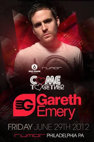 Gareth Emery @ Rumor - Philadelphia