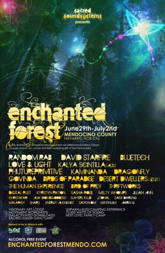 Enchanted Forest Mendocino 2012