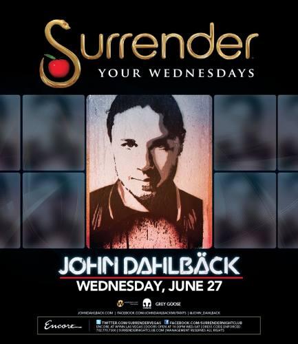 John Dahlback @ Surrender (6/27/12)